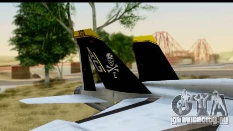 FA-18D VFA-103 Jolly Rogers для GTA San Andreas вид справа