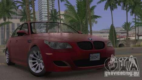 BMW M5 E60 2009 Stock для GTA San Andreas
