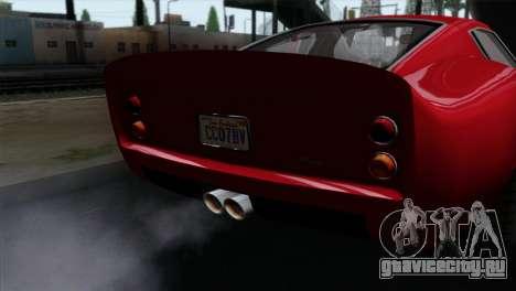 GTA 5 Grotti Stinger GT v2 IVF для GTA San Andreas вид справа