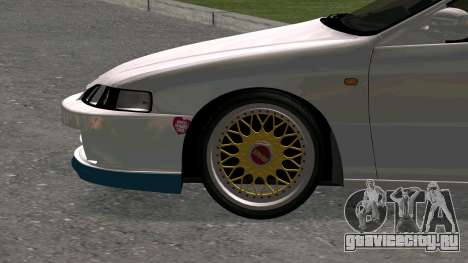 Honda Integra Type R 2000 для GTA San Andreas вид сзади