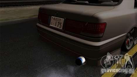 Toyota Crown для GTA San Andreas вид сзади