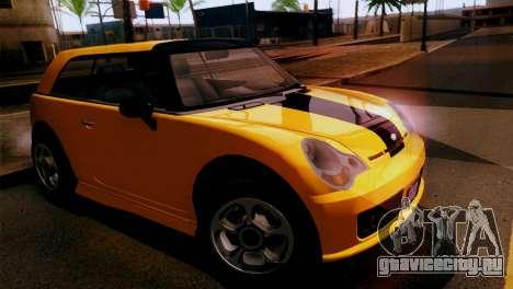 GTA 5 Weeny Issi для GTA San Andreas вид сзади слева