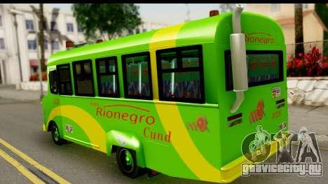 Chevrolet C30 Bus для GTA San Andreas вид слева