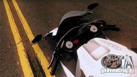 Yamaha YZF-R1 для GTA San Andreas вид сзади слева