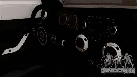 Jeep Wrangler 2013 Fast & Furious Edition для GTA San Andreas вид справа