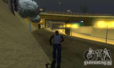 ENB Series v077 Light Effect для GTA San Andreas шестой скриншот