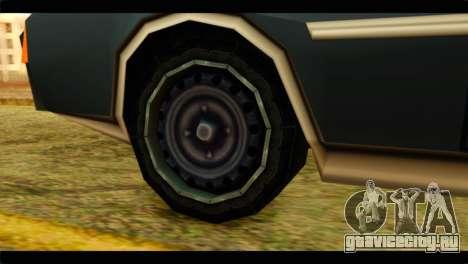Clover Technical для GTA San Andreas вид сзади слева