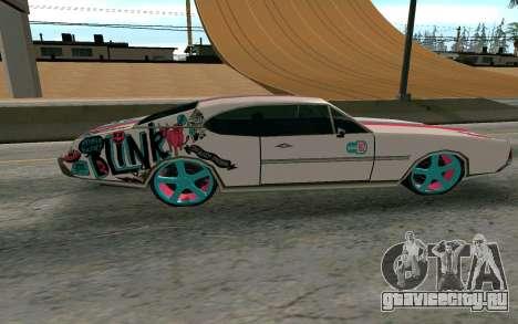 Clover Blink-182 Edition для GTA San Andreas вид слева