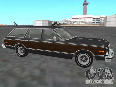 Plymouth Volare Wagon 1976 wood для GTA San Andreas вид слева