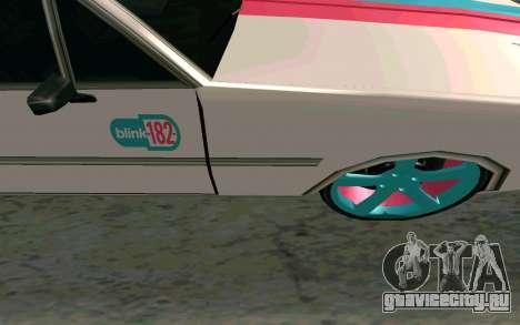 Clover Blink-182 Edition для GTA San Andreas вид изнутри