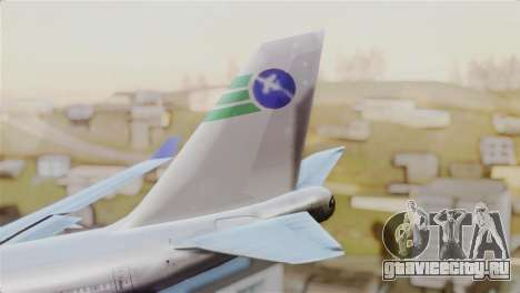 GTA 5 Caipira Airways для GTA San Andreas вид сзади слева