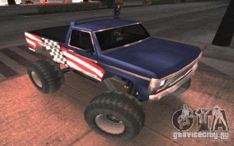 Новые текстуры Monster Final для GTA San Andreas