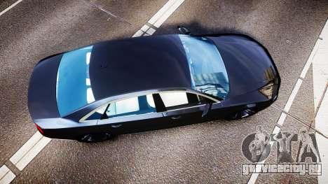 Audi A8 L 2015 Chinese style для GTA 4 вид справа