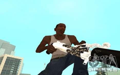 Skeleton Weapon Pack для GTA San Andreas седьмой скриншот