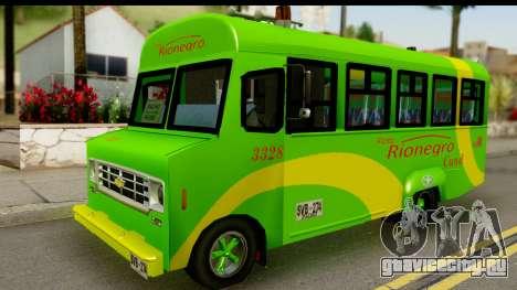 Chevrolet C30 Bus для GTA San Andreas