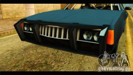 Clover Technical для GTA San Andreas вид сзади