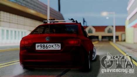 Volkswagen Jetta Stance для GTA San Andreas вид слева
