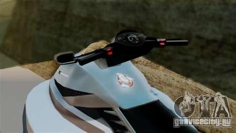 Seashark from GTA 5 для GTA San Andreas вид сзади слева