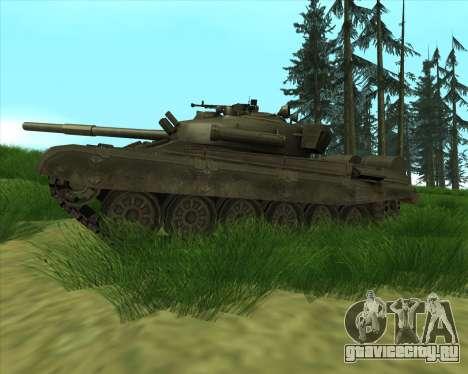 Т-72 для GTA San Andreas вид слева