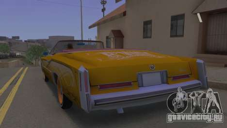 Cadillac Eldorado для GTA San Andreas вид слева