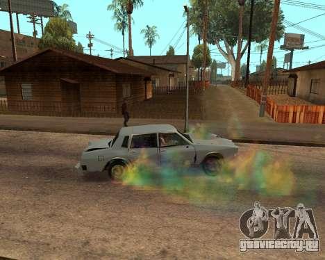 Rainbow Effects для GTA San Andreas восьмой скриншот