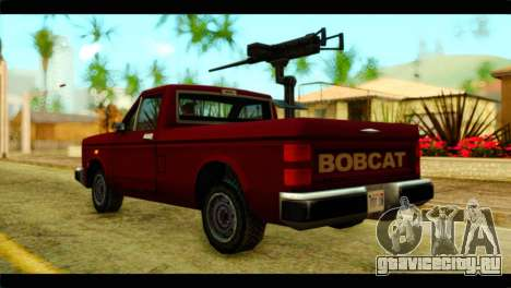 Bobcat Technical Pickup для GTA San Andreas вид слева