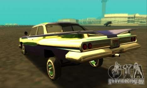 Luni Voodoo для GTA San Andreas вид слева