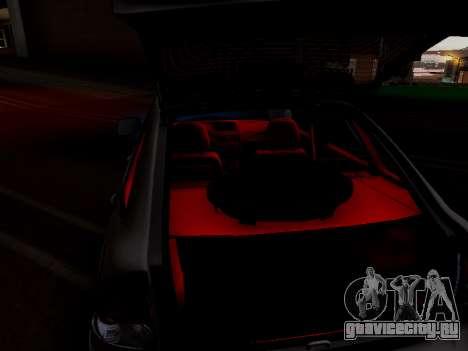 ВАЗ 2172 (Lada Priora) для GTA San Andreas вид изнутри