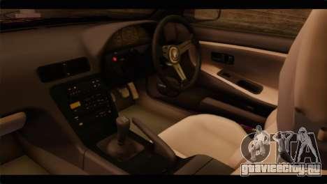 Nissan Silvia S13 для GTA San Andreas вид справа