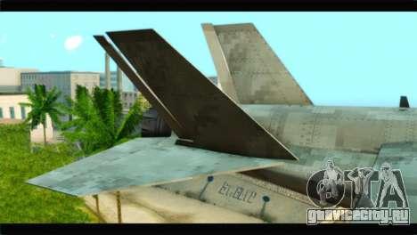Mammoth Hydra v1 для GTA San Andreas вид сзади слева