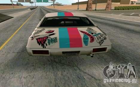 Clover Blink-182 Edition для GTA San Andreas вид справа