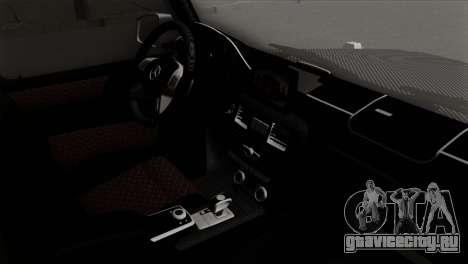 Mercedes-Benz G65 AMG Carbon Edition для GTA San Andreas вид справа