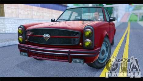GTA 5 Benefactor Glendale Special IVF для GTA San Andreas