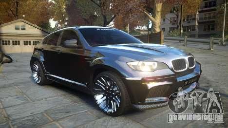 HAMANN BMW X6 2011 Tycoon EVO M v1.0 TSE для GTA 4 вид изнутри
