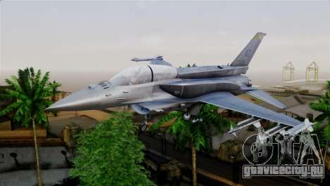 EMB F-16F Fighting Falcon US Air Force для GTA San Andreas