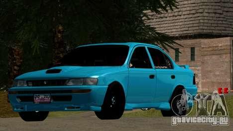 Toyota Corola AE100 для GTA San Andreas вид слева