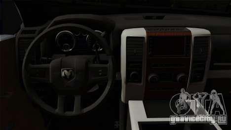 Dodge Ram QuickSilver для GTA San Andreas вид справа
