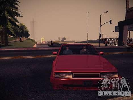 ENB Caramelo для GTA San Andreas пятый скриншот