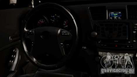 Toyota Hilux SW4 2014 Forca Tatica для GTA San Andreas вид сзади