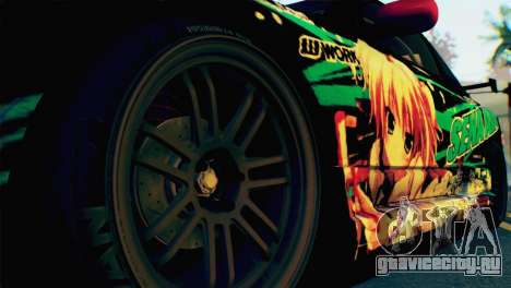 Nissan Silvia S15 Itasha для GTA San Andreas вид сзади слева