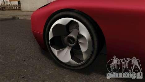 Bullet PFR v1.0 для GTA San Andreas вид сзади слева
