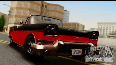 GTA 5 Declasse Tornado Worn IVF для GTA San Andreas