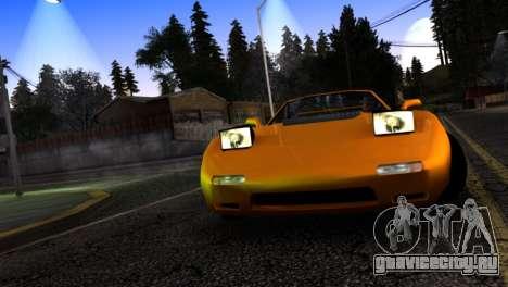 ZR-350 by Verone v.1 для GTA San Andreas вид изнутри