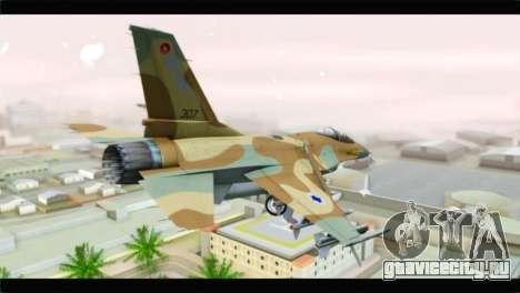 F-16A Netz для GTA San Andreas вид слева