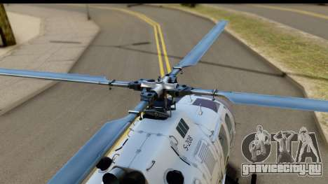 MBB Bo-105 Argentine Police для GTA San Andreas вид справа