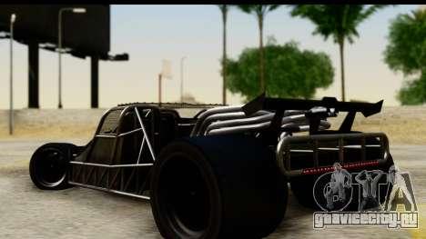 Flip Car 2012 для GTA San Andreas вид слева