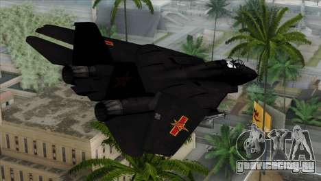 F-14 China Air Force для GTA San Andreas вид слева