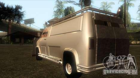 зУбар для GTA San Andreas вид слева