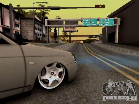 ВАЗ 2172 (Lada Priora) для GTA San Andreas вид справа