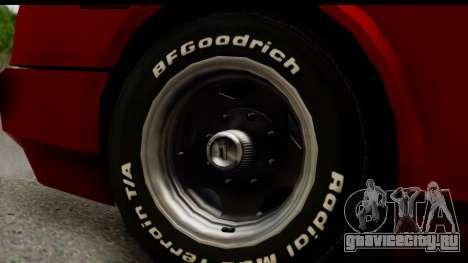 Tuned Infernus для GTA San Andreas вид сзади